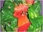 Gemischter Salat, Feldsalat, Paprika, Tomate