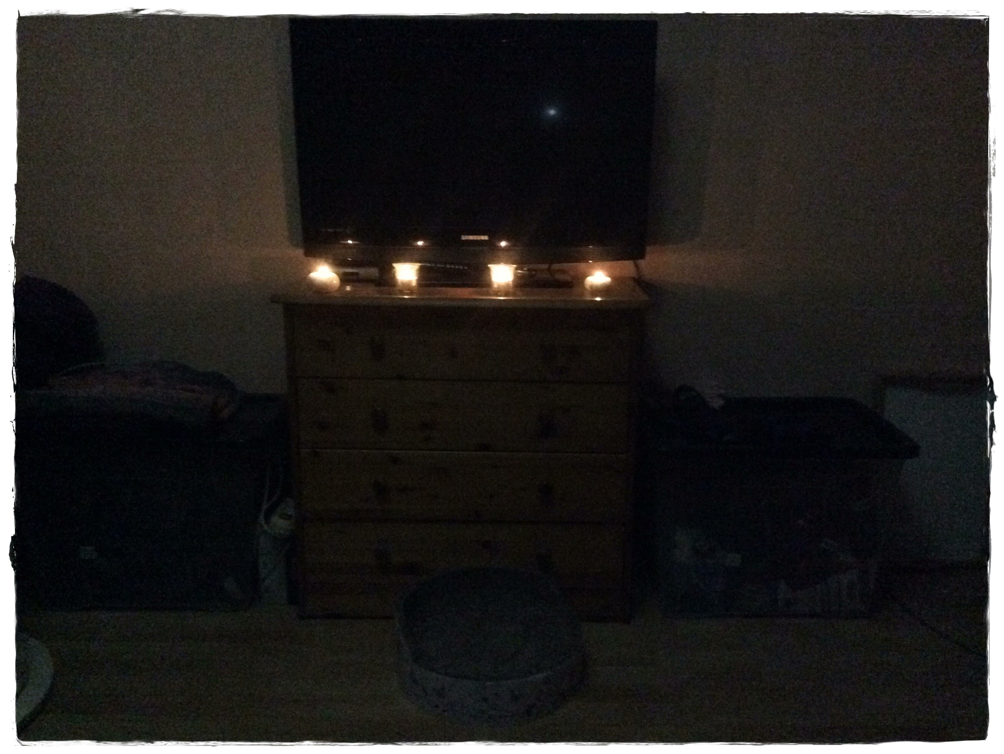 3. Advent mit abends ca. 4 Stunden Stromausfall