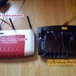 alte kaputte fritzbox 7272 und neue fritzbox 7560