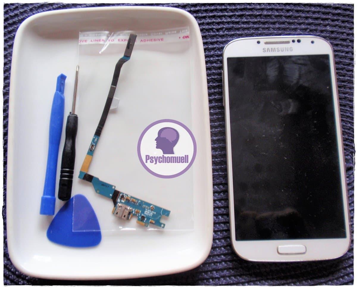 Mein Samsung s4 lädt nicht mehr, Ladebuchse gewechselt!
