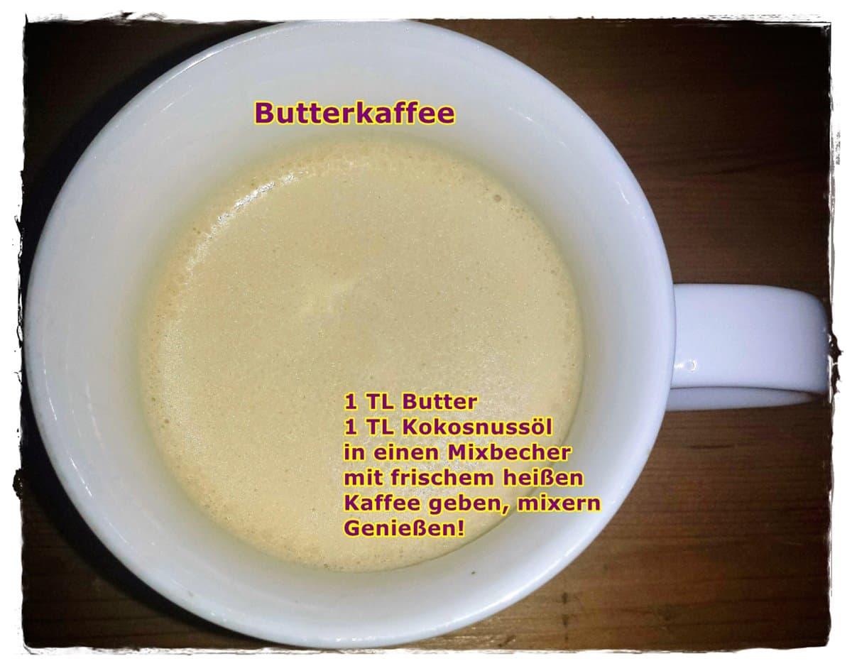 Mein erster Butterkaffee ☕️