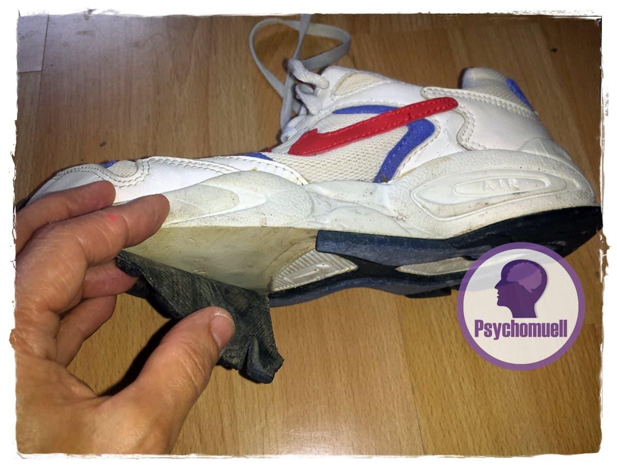 R.i.P meine uralten Nike Laufschuhe