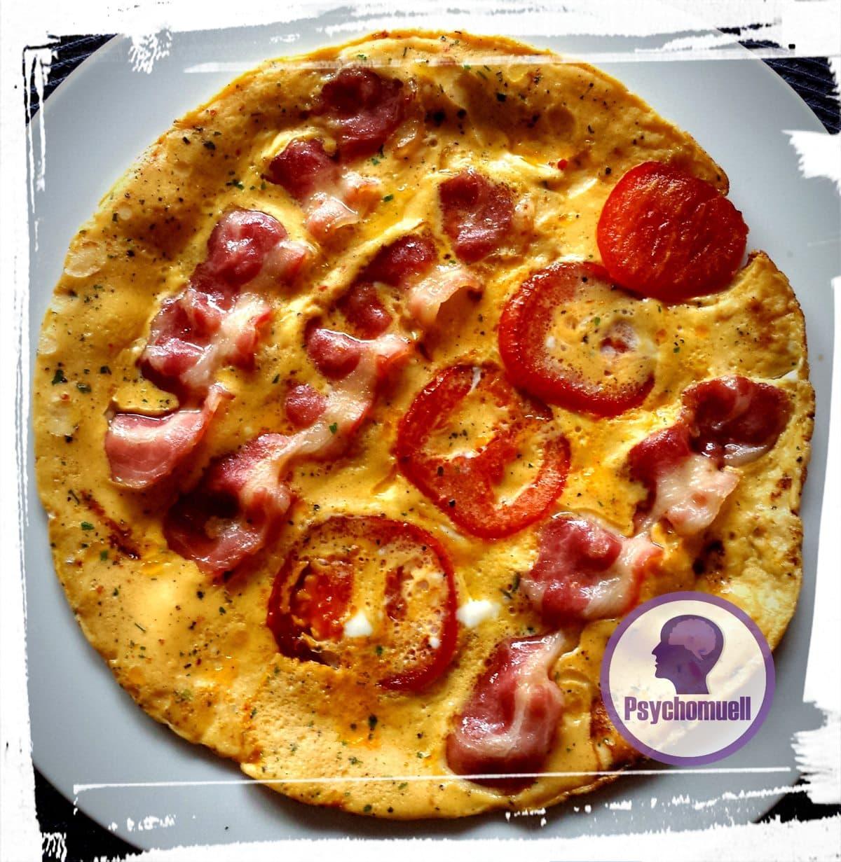Frühstück: Omelette 🥚 mit Speck