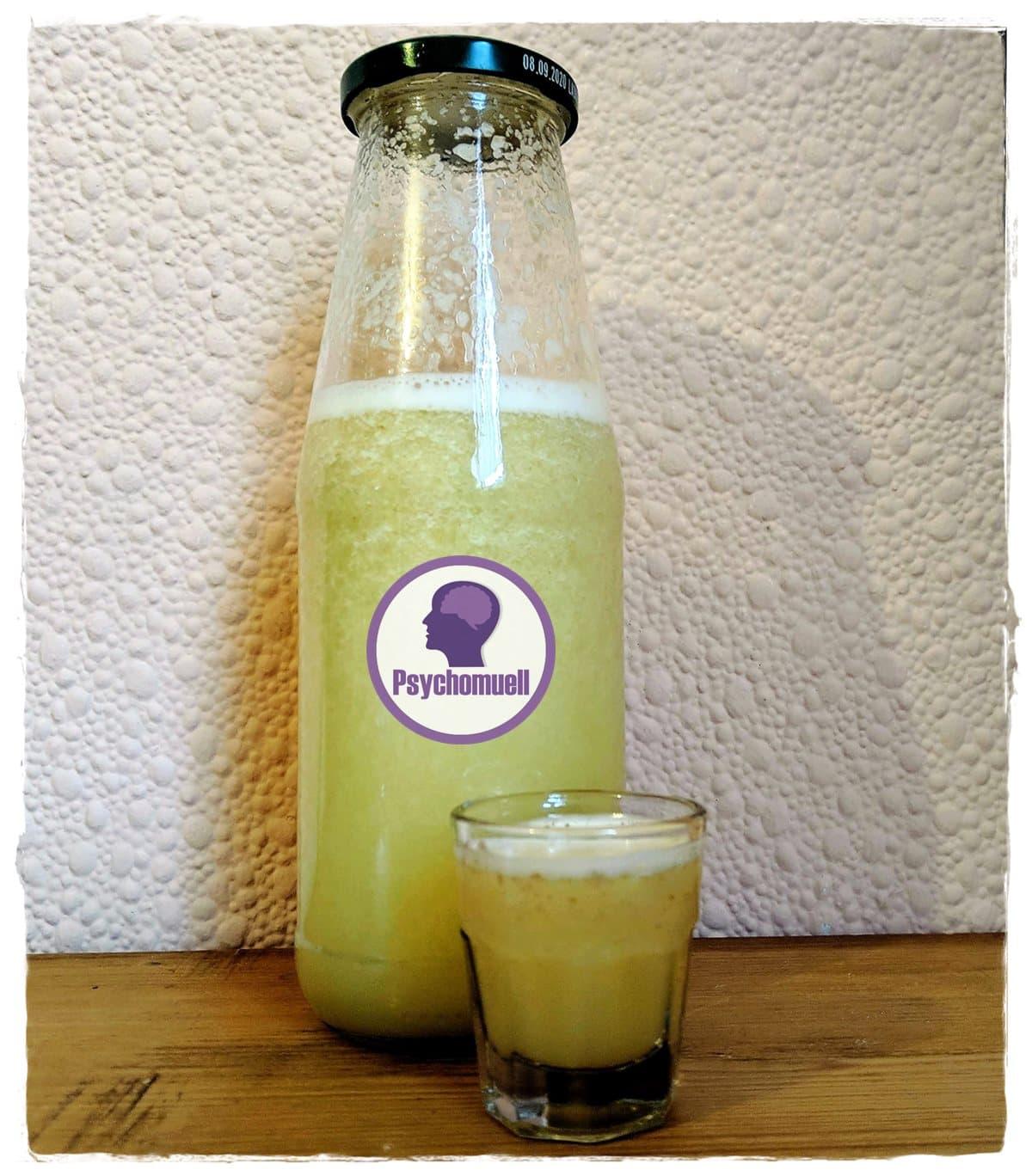 Ingwer-Zitrone-Honig Shot, der Erkältungskiller