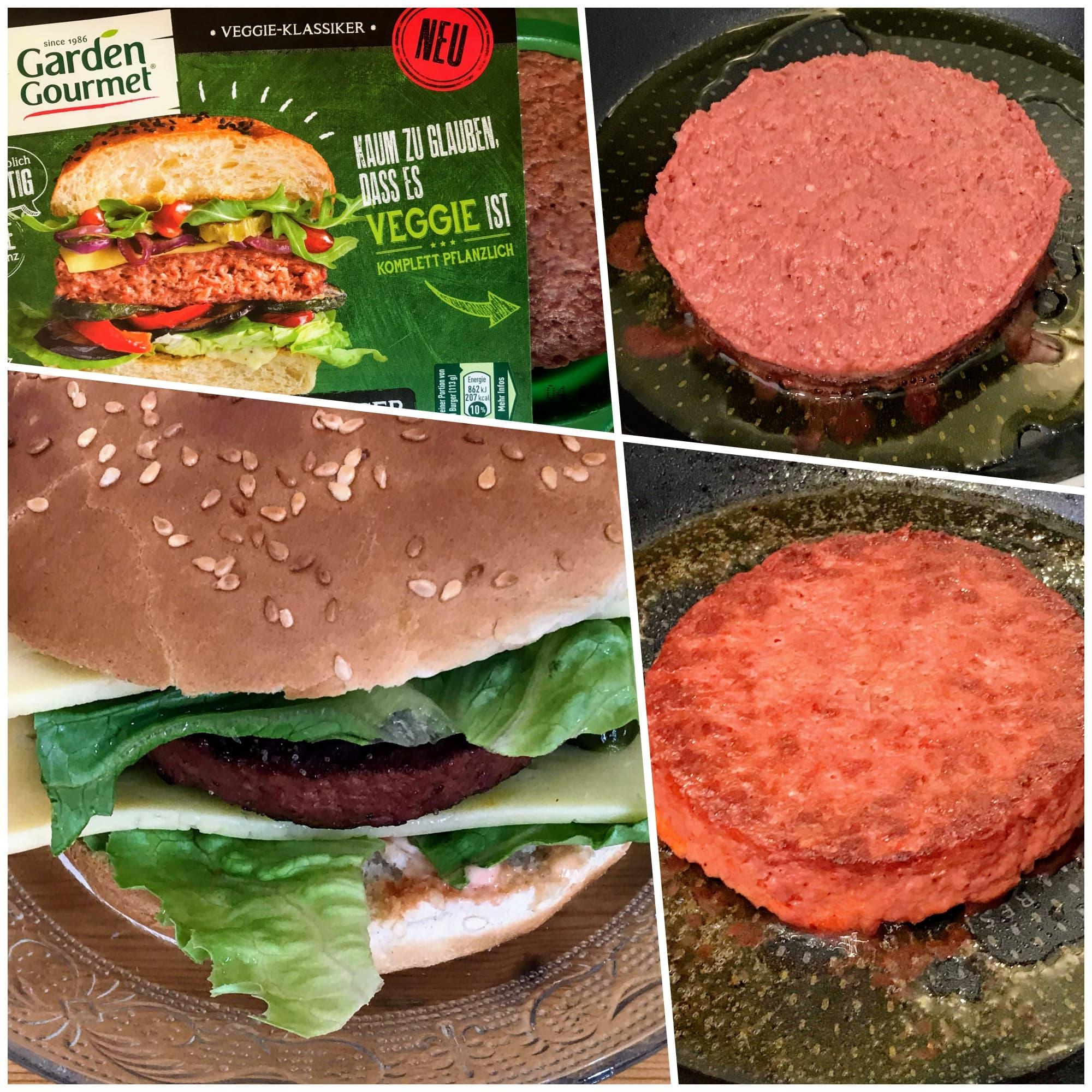 Fleischloser Burger, Ersatz-Patty